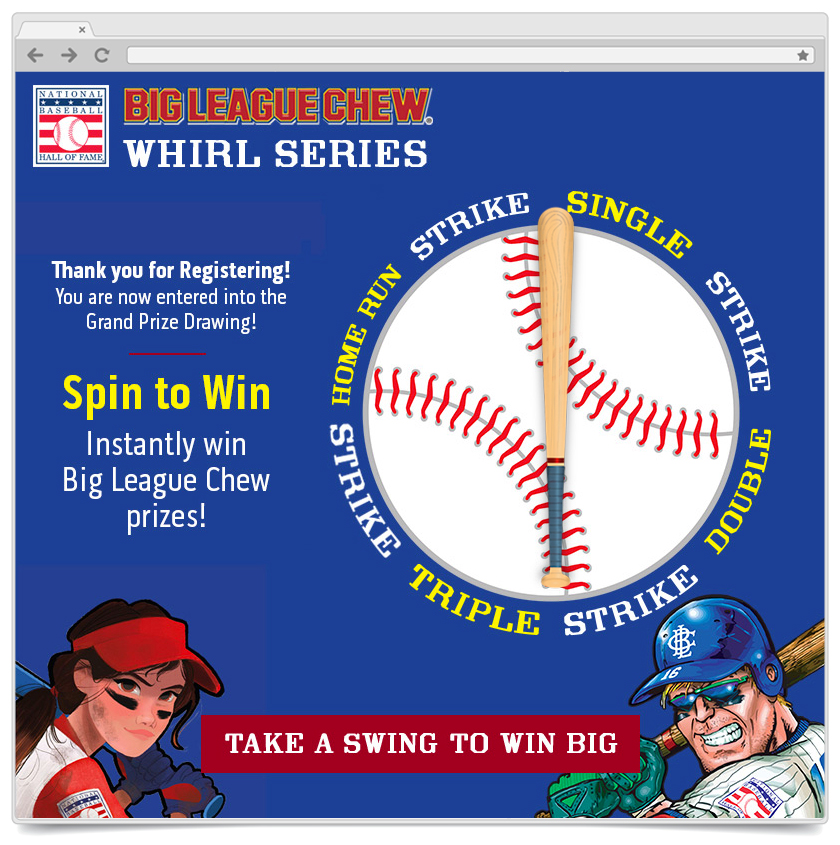 Spin To Win - Big League Chew