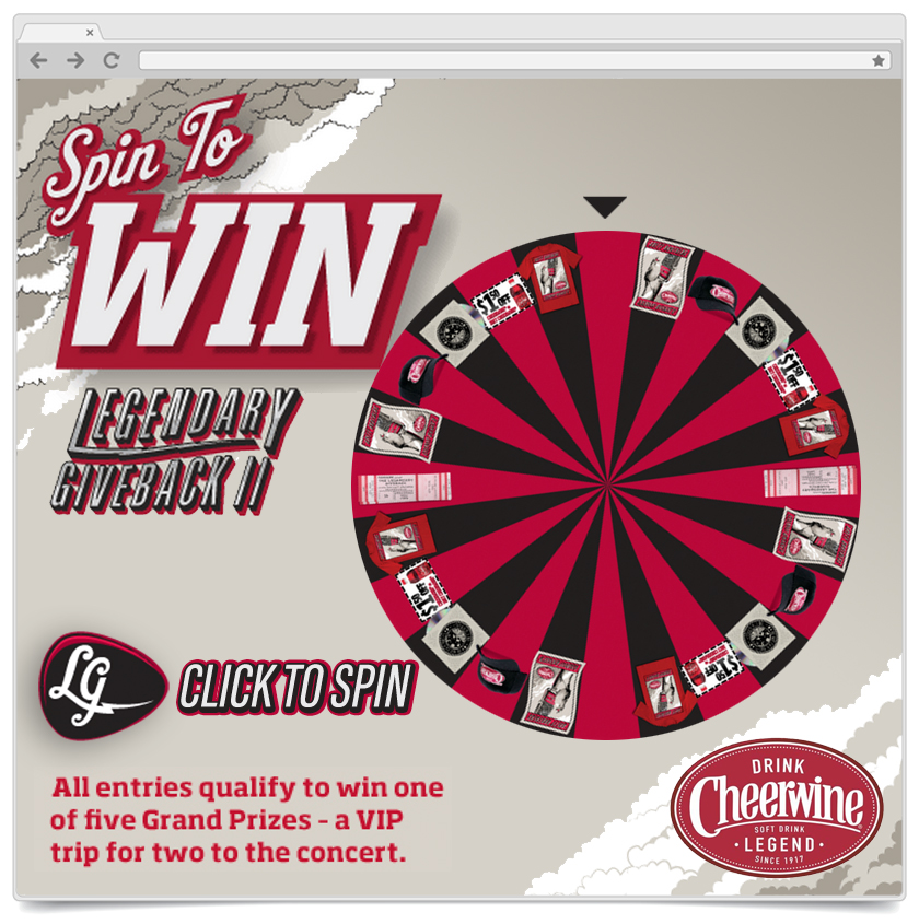 Spin To Win - Cheerwine