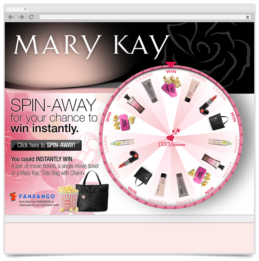 Spin To Win - Mary Kay