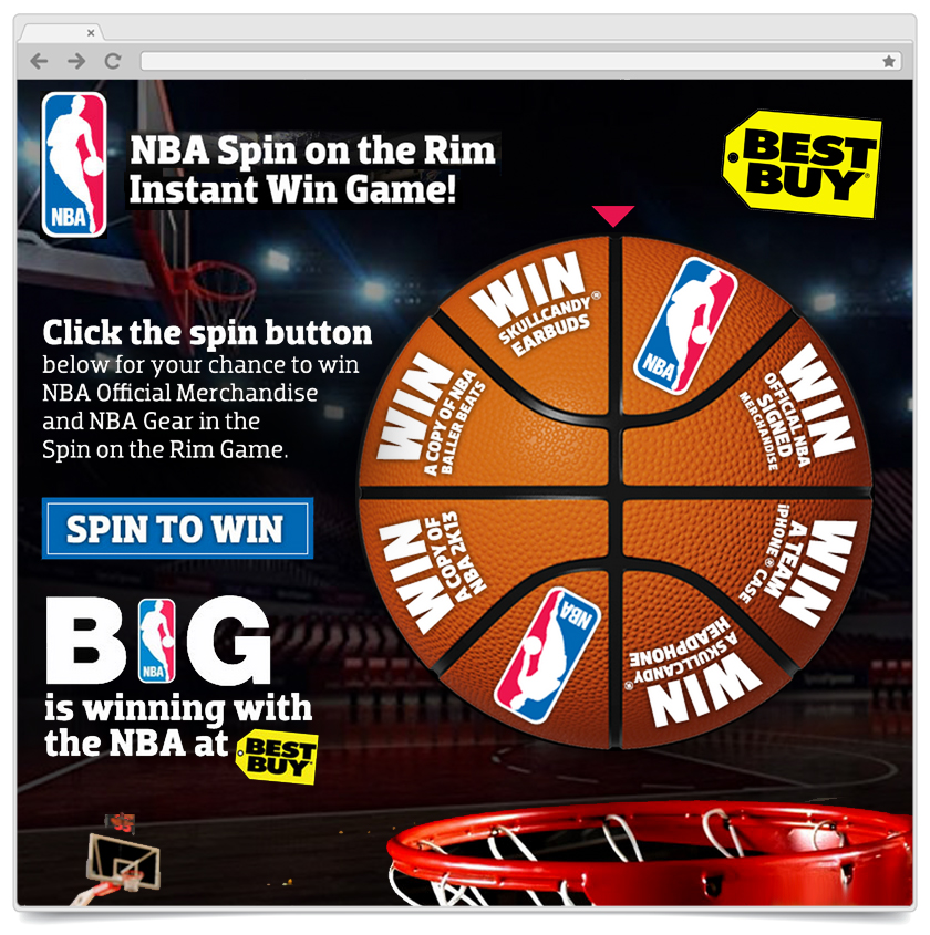 Spin To Win - NBA
