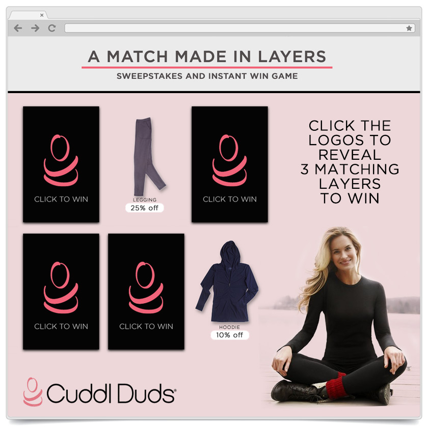 Match To Win - Cuddle Duds