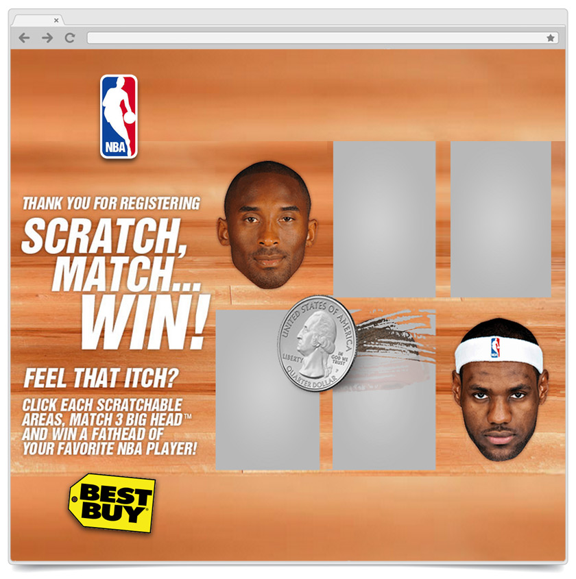 Match To Win - NBA