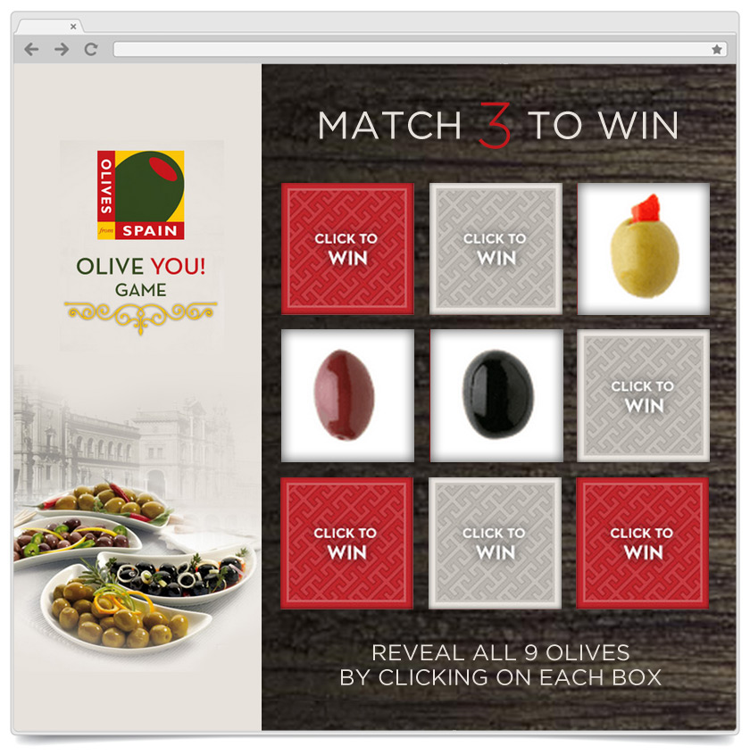 Match To Win - Olive of Spain