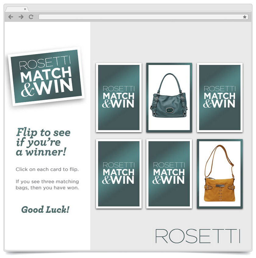 Match To Win - Rosetti