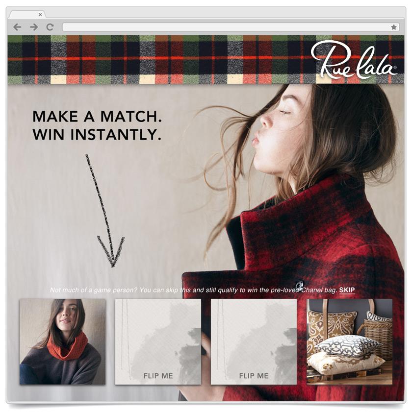 Match To Win - Ruelala