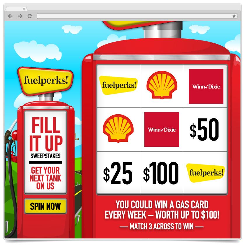 Slot Machine - Instant Win - Fuelperks
