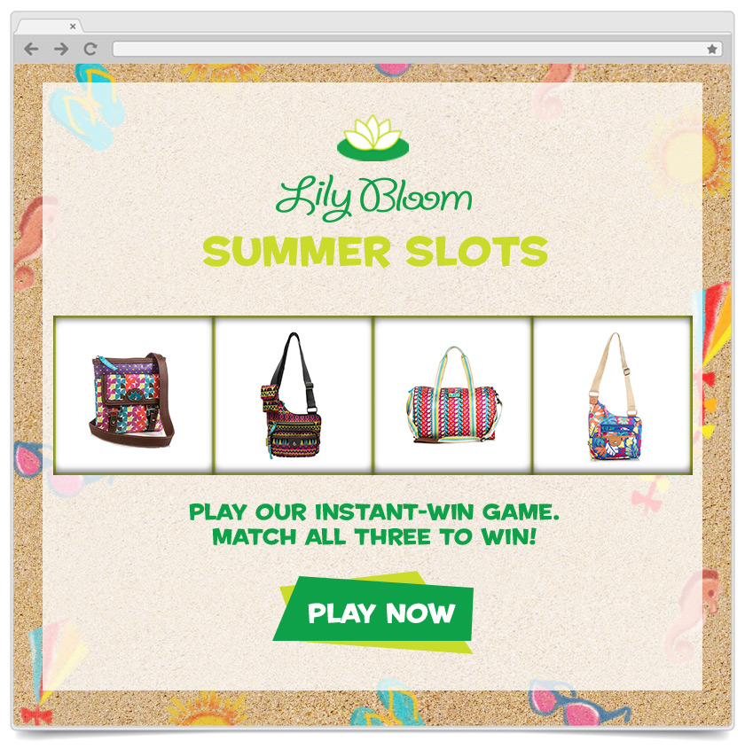 Slot Machine - Instant Win - Lily Bloom