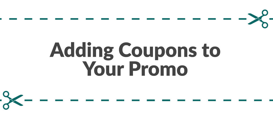 Adding Coupons To Your Promo